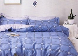 Lenjerie de pat cu elastic ptr saltea de 180x200cm ,180-B26