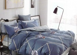Lenjerie de pat cu elastic ptr saltea de 180x200cm ,180-B31