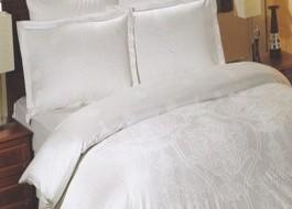 Lenjerie de pat de lux, Altinbasak Scarlett alb