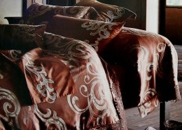Lenjerie de pat de lux jacquard, Ralex Pucioasa, Grace