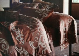 Lenjerie de pat de lux jacquard -Grace-J04