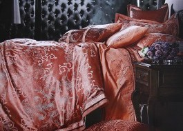 Lenjerie de pat de lux jacquard -Estelle-J11