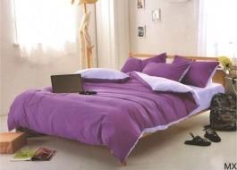 Lenjerie de pat mov cu lila MX66