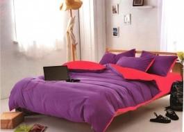 Lenjerie de pat mov cu roz MX 31