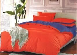 Lenjerie de pat portocaliu cu mov MX12