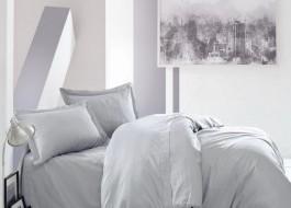 Lenjerie de pat premium satin de lux, Cotton Box, Elegant - Grey