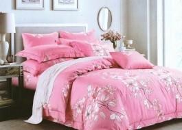Lenjerie de pat Rabatt IN04 Roz Elegant