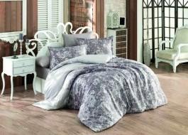 Lenjerie de pat satin de lux, Bahar Home, Tyler - Purple