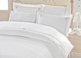 Lenjerie de pat de lux cu broderie, Cotton Box, Guher