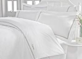 Lenjerie de pat de lux cu broderie, Cotton Box, Mehves