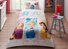 Lenjerie de pat TAC Disney 3 piese Princess dream