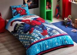 Lenjerie de pat TAC Disney 3 piese Spiderman ultimate