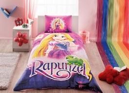 Lenjerie de pat TAC Disney 3piese Rapunzel
