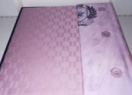 Lenjerie pat pentru 2 persoane Beverly Hills Polo Club, bumbac satinat, cod 105 - Lilac - cutie deteriorata, produs intact