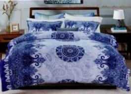 Lenjerii de Pat Cocolino, Ralex Pucioasa, model albastru royal