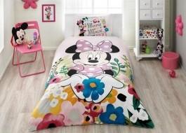 Lenjerii de pat copii, TAC Disney 3 piese, Minnie glitter