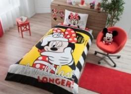 Lenjerii de pat copii, bbc 100, TAC Disney 3 piese, Minnie Selfie