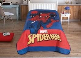 Patura de lux Tac 160x220cm, Disney Spiderman City