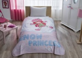 Patura de lux Tac 160x220cm, STRAWBERRY  PRINCESS