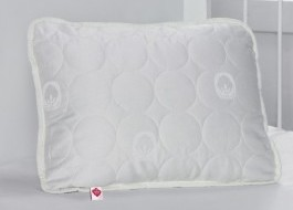 Perna bebeluși cu umpluta bumbac si fata bumbac 100% satinat, Cotton Box, 35x45 cm, alba