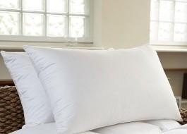 Perna puf gasca 50x70cm, Ralex Pucioasa, alb
