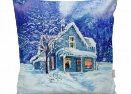 Pernuta decorativa Craciun, 45 x 45 cm, Magic House