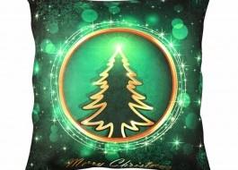 Pernuta decorativa Craciun, 45 x 45 cm, Magic Tree