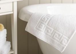 Prosop alb hotel 700gr/mp bumbac 100% dimensiune 50x90cm