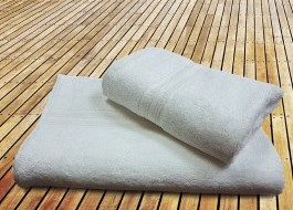 Prosop bambus 50X90CM - Crem