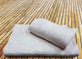 Prosop bambus 70x140CM - Light powder