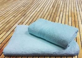 Prosop bambus 70x140CM - Ocean water green