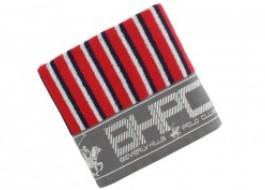 Prosop bumbac 100%, Beverly Hills Polo Club, 602 - Dark Blue, Red , 50x100cm