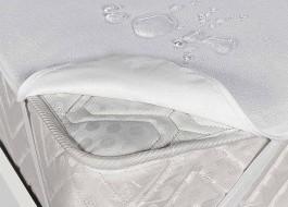 Protectie de pat impermeabila bumbac 100%  frotir dimensiune 120x200cm