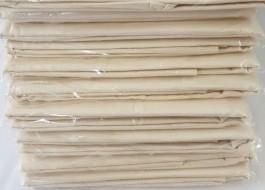 Set 10 bucati - Fata de masa 140x220cm Natur