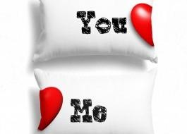 Set 2 fete de perna, Cotton Club, 50x70 cm You&Me