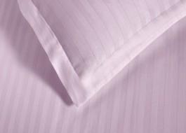 Set 2 fete de perna damasc 50x70 cm, Ralex Pucioasa,  culoarea roz
