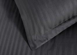 Set 2 fete de perna damasc 70x70 cm, culoarea negru