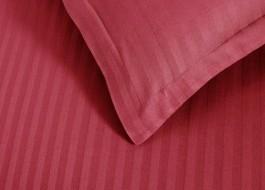 Set 2 fete de perna damasc 70x70 cm, Ralex Pucioasa, rosu