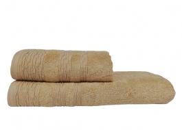 Set 2 prosoape bambus Bej, Class Home