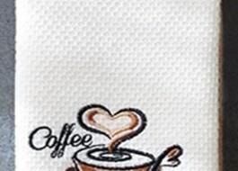 Set 2 prosoape bucatarie bumbac 100%, Coffe