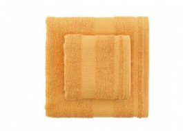 Set 2 prosoape bumbac 100%, Bahar Home, Tommy - Mustard