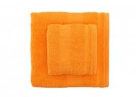 Set 2 prosoape bumbac 100%, Bahar Home, Tommy - Orange