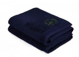 Set 2 prosoape bumbac 100%, Beverly Hills Polo Club, Albastru inchis,100x150cm, cod A- 114