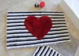 Set 3 covorase baie, Alessia Home, Heart Lıne