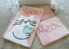 Set 3 covorase baie, Alessia Home, Kedicik - Pink