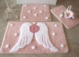 Set 3 covorase baie, Alessia Home, Melek - Pink