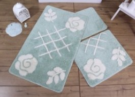Set 3 covorase baie, Alessia Home, Pastel - Mint