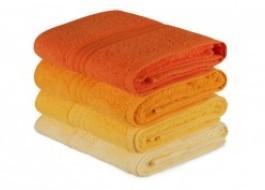 Set 4 prosoape bumbac 100%,Hobby Home, 50x90 cm, Rainbow - Galben