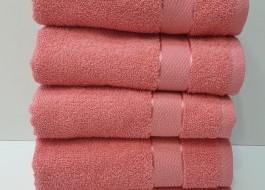 Set 5 prosoape fata bumbac 100% 50x90cm, roz