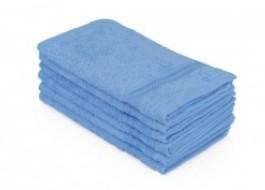 Set 6 prosoape 30x50cm bumbac 100%,Hobby Home, Bleu
